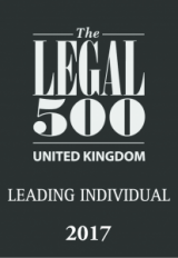 Legal 500 2017: Leading Individual
