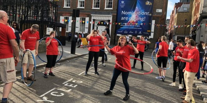 MIPIM Hula Hooping