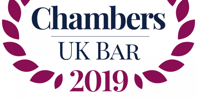 Hardwicke celebrates yet more excellent results in Chambers UK Bar Directory 2019