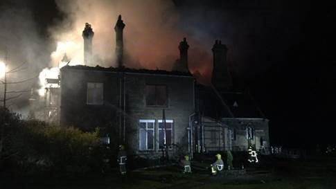 Multi-million pound claim for fire at Alston Hall settles