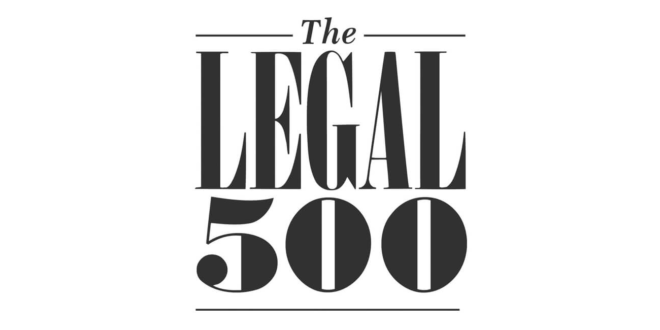 Hardwicke shortlisted for multiple Legal 500 Awards 2020