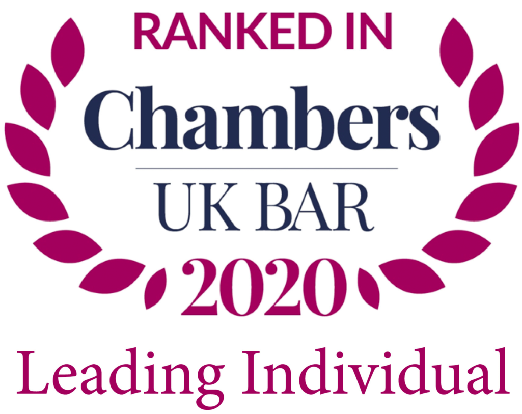 Chambers UK Bar: Leading Individual