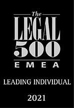 Legal 500 Leading Individuals EMEA