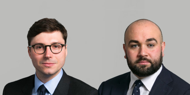 James Duncan-Hartill and Richard Sumarno promoted to Joint Practice Directors